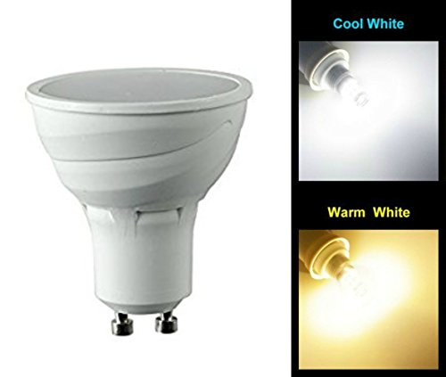 LED-Lampe Msc mit dämmerungsabhängigem Lichtsensor, 5Watt, 450Lumen, GU10, automatischer Lichtsensor mit LED-Birne, automatische An-/Abschaltung, warmweißes Leuchtmittel mit 3000K, energiesparend(nicht 2w, 3w, 4w, 6w, 7w, 8w, 9w, 10w, GU10, E27, GU10, E14), 5Wentspricht 50-W-Glühlampen, Tageslicht White, gu10, 5.00 wattsW 220.00 voltsV (Dusk To Dawn Outdoor-beleuchtung-led)