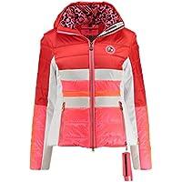 Sportalm Kitzbühel Sir SP Damen Ski Jacke Orange Grau Gold