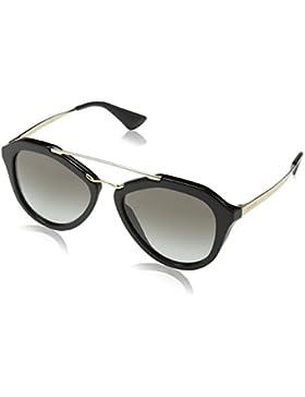 Prada Cinema Goth-Style Sport-Glam PR12QS, Gafas de Sol Unisex-Adulto, Black, 54