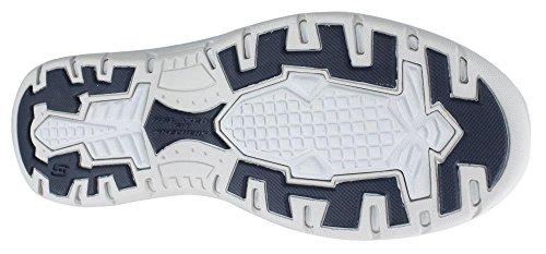 scarpa Denim Blue Casual uomo Skechers Avillo sulla scivolare previsto q4Y4v
