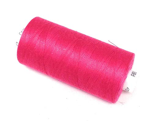 5 X Spun Polyester Kirschrot Rosa Hand Nähmaschine Thread 1000yrds M057 - Nähmaschinen Pedale