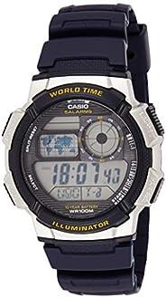 ساعة يد ستاندرد رقمية بحزام من الراتنج من كاسيو للرجال