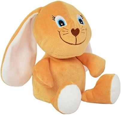 BABY-WALZ BABY-WALZ BABY-WALZ Peluche lapin parlant aux longues oreilles 17 cm peluche peluche, brun clair | Online Shop  3c4cb4