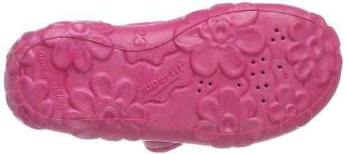 Superfit Bonny, Chaussons courts, non doublées fille Rose - Pink (PINK 63)