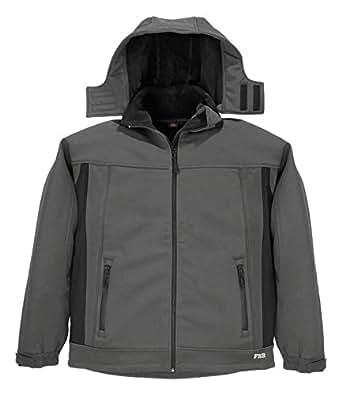 FHB Softshell Axel, größe 3 XL, anthrazit / schwarz / grau, 78527-1220-3XL