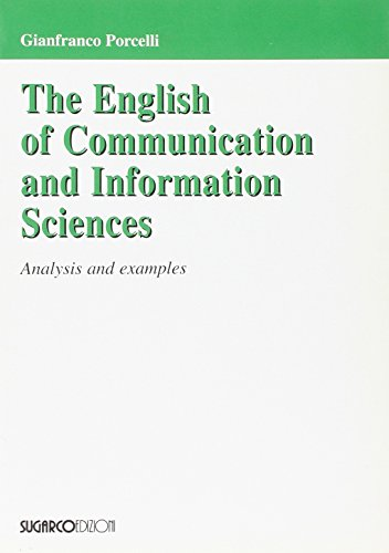 The english of communication and information sciences