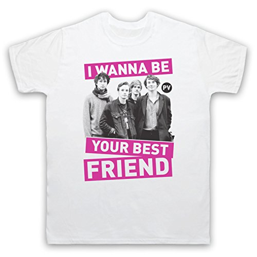 Inspiriert durch Palma Violets Best Of Friends Unofficial Herren T-Shirt Weis
