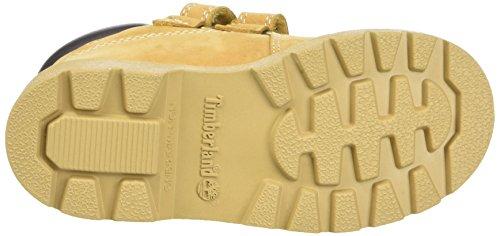 Timberland Unisex Baby Double Strap H&L Chukkawheat Lauflernschuhe, Gelb (Wheat Nubuck), 29 EU -