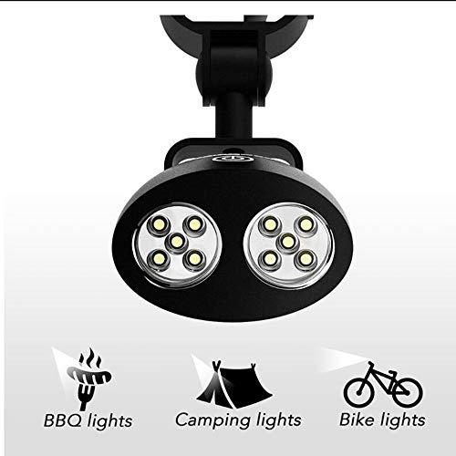 Wasserdichte Outdoor BBQ Grill Licht tragbare helle LED BBQ Licht Zelt Lampe