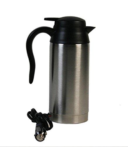 HomJo 12V 750ml Acero inoxidable Calefacción del coche Taza de café Taza...