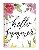 Minitimer Style Blüten 2020 - Taschenplaner - Taschenkalender A6 - Weekly - 192 Seiten - Terminplaner - Notizbuch