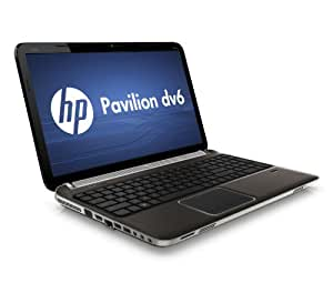 "HP Pavilion dv6-6090ef Ordinateur portable 15,6"" Intel Core i7 2630QM 1 To 6144 Mo Windows 7 Carte graphique ATI Radeon HD 6770 Ombre foncée"