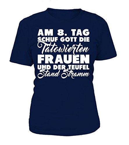 8. Tag Schuf Gott Den T-shirts (Am 8. Tag Schuf Gott Die Tatowierten. T-Shirt Frauen)
