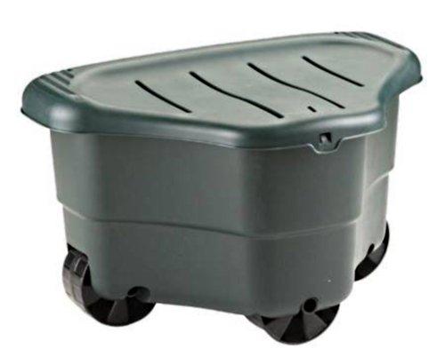 Gartenarbeit leicht gemacht ! Mit dem rollbaren Gartenhocker - große Sitzfläche + Staufach!