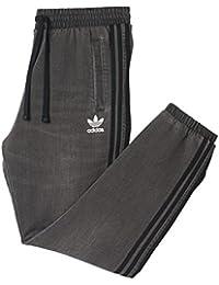 adidas French Terry Denim Slim Pant Medium Grey Denim