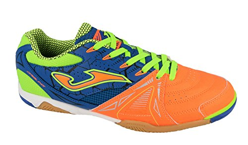Joma Dribling, Chaussures de Futsal Mixte Adulte Orange (Orange-royal)