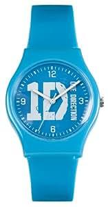 One Direction Mädchen-Armbanduhr Analog plastik blau ON004BLODA