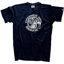 Shirtzshop–Camiseta para hombre verdadera Vikingo tienen B de R De äuche–bräuche–bäuche, marina, XL, sshop de u86brauch de T