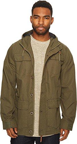 Globe Mens Goodstock Parka IV Jacket (Mens Hooded Canvas Jacket)