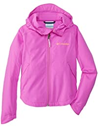 Columbia Splash Flash II Hooded Softshell Jacket - Chaqueta para niña, color fucsia, talla XXS