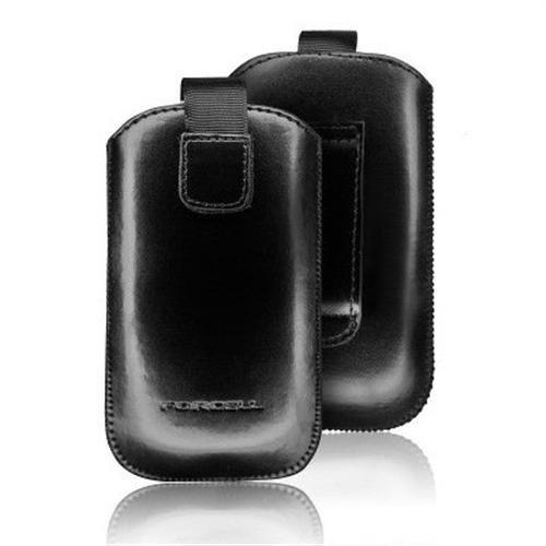 Forcell Echt Leder Handytasche - Samsung SGH-E250 / SGH-U700 - Tasche - Premium-Qualität - mit Gürtelschlaufe und Zugband
