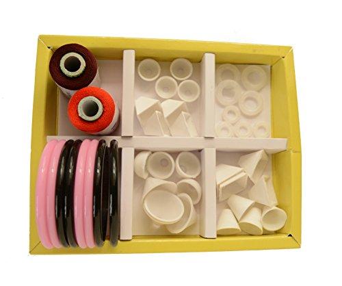 36461a9086 Buy Silk Thread Jewellery Making Kit on Amazon | PaisaWapas.com