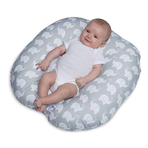 STRIR Cojín Lactancia Almohadas de Lactancia 3 EN 1 para Embarazo y Bebé con Cubierta de Algodón...