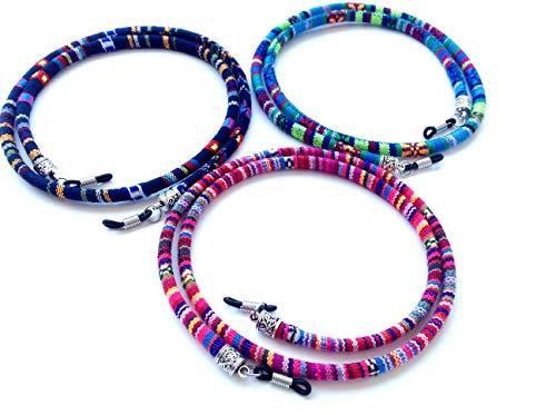 3 pcs cordón Gafas,Estampado Etnico,HC