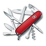 Victorinox Huntsman Zakmes, 15 functies, groot lemmet, schaar, houtzaag, schroevendraaier