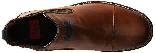 Rieker Rieker 36063-25, Stivaletti alla caviglia, imbottitura leggera uomo Marrone (Tabak/navy/ozean/brown/mogano / 25)
