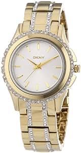 DKNY Damen-Armbanduhr XS Analog Quarz Edelstahl beschichtet NY8699