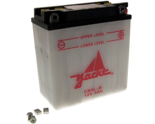 Batterie CB5L-B / YB5L-B 12 Volt [ inkl.7.50 EUR Batteriepfand ]