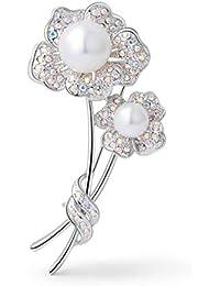 61111bdedc4d Broches de bisuteria para vestidos de novia - Caros vestidos de ...