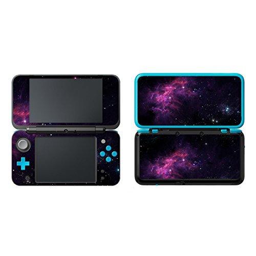uushop Vinyl Schützende Haut Aufkleber Cover Wrap für Neue Nintendo 2DS XL/LL Galaxy Nebel 29