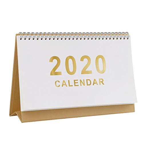 Etmury Tischkalender 2020,Design 2020 Tischkalender, Oktober 2019 - Dezember 2020,Idealer Planer 2020 für Zuhause oder das Büro mit separater To-do-Liste