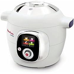 Moulinex - CE701010 - Cookeo - Multicuiseur Intelligent avec 50 recettes - Blanc
