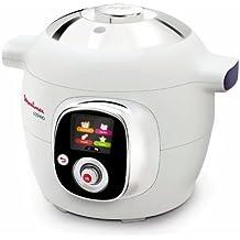 Moulinex Cookeo CE701010 - Robot de cocina (1200 W, capacidad para 6 comensales, capacidad de 6 l), color blanco