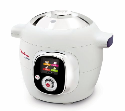 Moulinex Cookeo CE701010 - Robot de 1200 W, color blanco