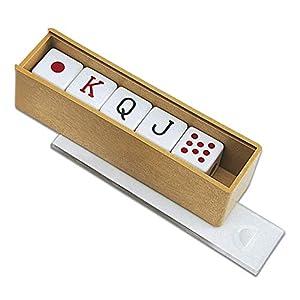 C. Games – Accesorios 5 Dados de Poker 15mm