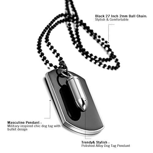 9edef3132613 Die Beste Cupimatch Herren Halskette, Militärischen Erkennungsmarken ...