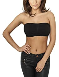 Urban Classics Damen Top Ladies Pads Bandeau
