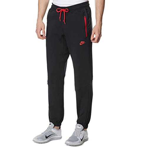 Nike -  Pantaloni sportivi  - Uomo Black/Red Small