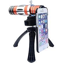 Apexel CL-89N-I6 - Objetivo 18x con lente macro y trípode para Apple iPhone 6