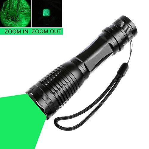 Linterna de luz verde