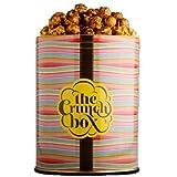 The Crunch Box Sticky English Toffee Popcorn Tin - 410 Gms