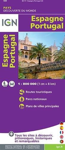 86111 Espagne/Portugal 1/800.000
