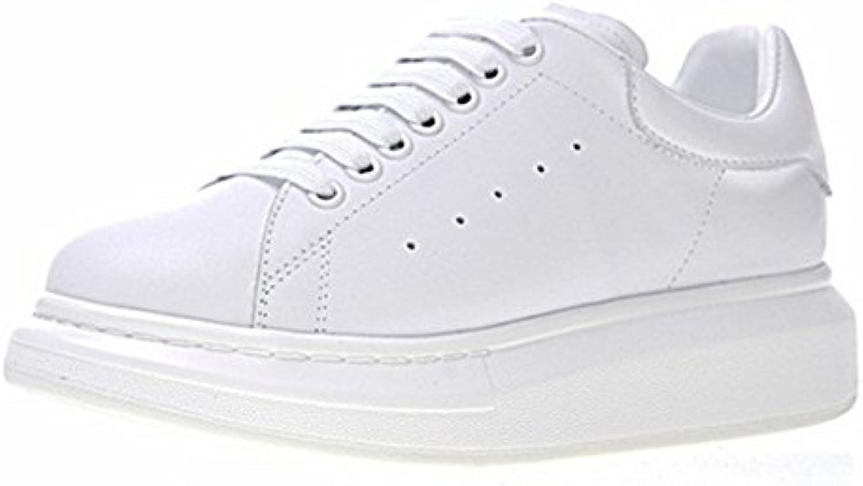 Suntimt Footwear Unisex Erwachsene Herren Damen Turnschuhe Trainers Sneakers Weiß