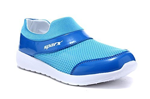 Sparx-Womens-Navy-Blue-White-Colour-SM089L-Series-Synthetic-and-Nylon-Mesh-Casual-Shoes-4UK