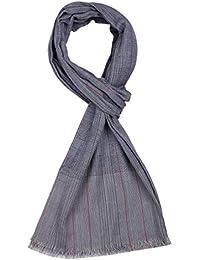 ROYALZ bufanda hombre ligera clásico XXL pañuelo suave de algodón delgado  mantón de los hombres accesorios… d0f8fe62f92