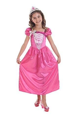 amscan BarbieTM-Prinzessin Kostüm für Mädchen - 3-5 Jahre (Barbie Prinzessin Kostüm)